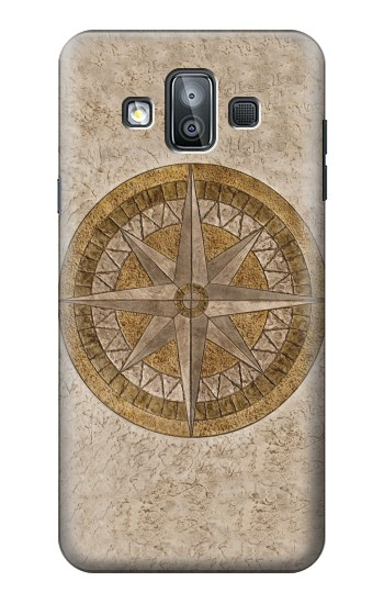 Printed Windrose Circle Stamp Samsung Galaxy J7 Duo Case