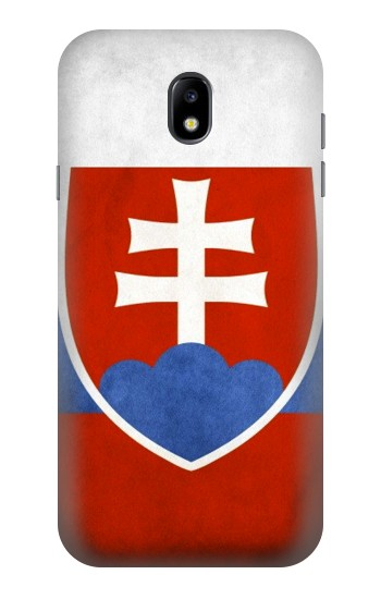 Printed Slovakia Flag Samsung Galaxy Core I8260 Case