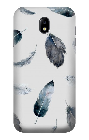 Printed Feather Paint Pattern Samsung Galaxy Core I8260 Case