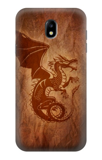 Printed Red Dragon Tattoo Samsung Galaxy Core I8260 Case