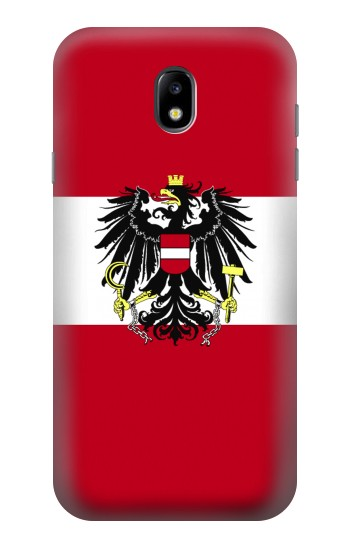 Printed Variant flag of Austria Samsung Galaxy Core I8260 Case