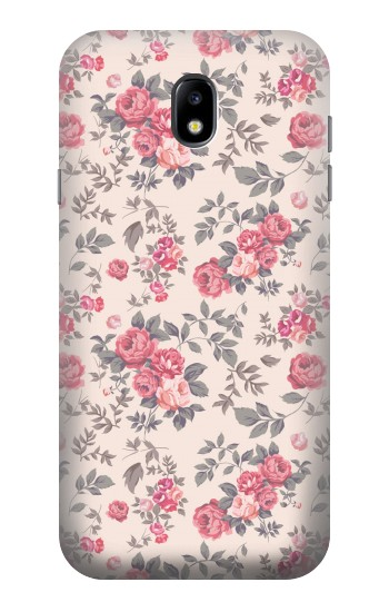 Printed Vintage Rose Pattern Samsung Galaxy Core I8260 Case