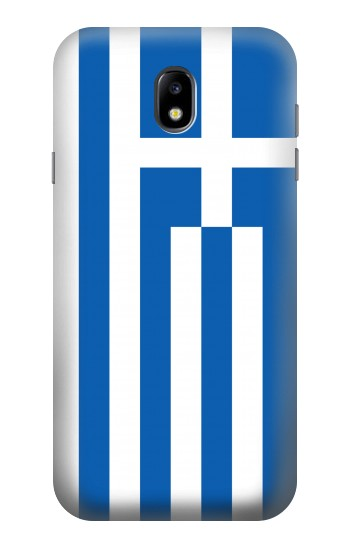 Printed Flag of Greece Samsung Galaxy Core I8260 Case