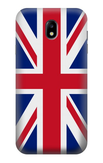 Printed Flag of The United Kingdom Samsung Galaxy Core I8260 Case