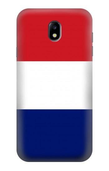 Printed Flag of France and the Netherlands Samsung Galaxy Core I8260 Case