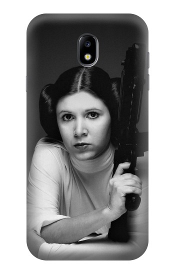 Printed Princess Leia Carrie Fisher Samsung Galaxy Core I8260 Case