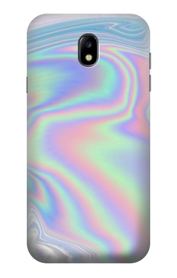 Printed Pastel Holographic Photo Printed Samsung Galaxy Core I8260 Case