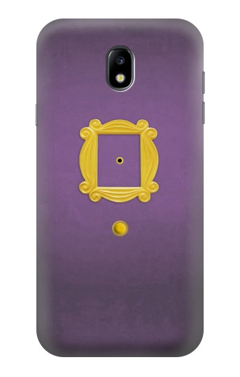 Printed Friends Purple Door Minimalist Samsung Galaxy Core I8260 Case