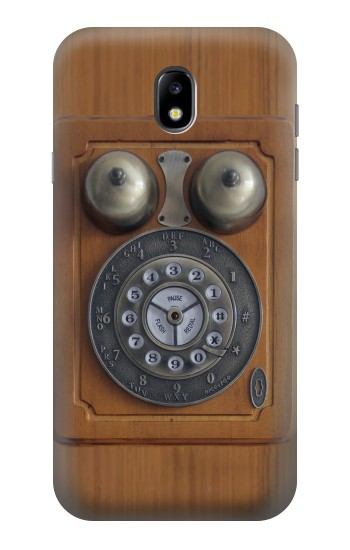 Printed Antique Wall Phone Samsung Galaxy Core I8260 Case