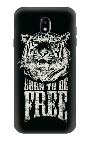 Printed Born to Be Free Tiger Samsung Galaxy Core I8260 Case