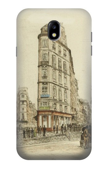 Printed Boulevards of Paris Samsung Galaxy Core I8260 Case