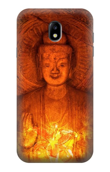 Printed Buddha Spiritual Holy Lights Samsung Galaxy Core I8260 Case
