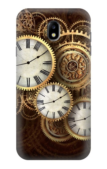 Printed Gold Clock Live Samsung Galaxy Core I8260 Case