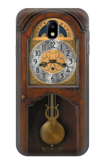 Printed Grandfather Clock Antique Wall Clock Samsung Galaxy Core I8260 Case