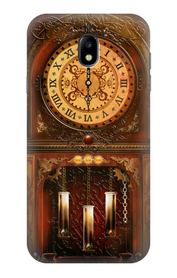 Printed Grandfather Clock Samsung Galaxy Core I8260 Case