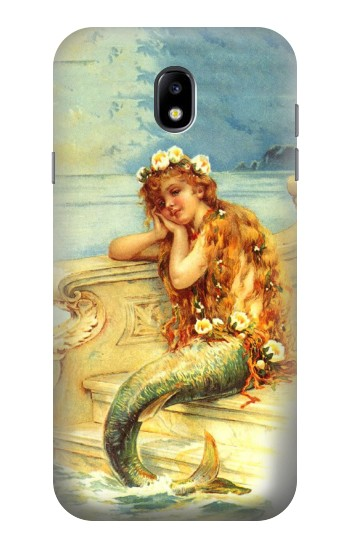 Printed Little Mermaid Painting Samsung Galaxy Core I8260 Case