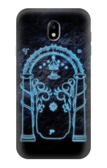 Printed Lord of The Rings Mines of Moria Gate Samsung Galaxy Core I8260 Case