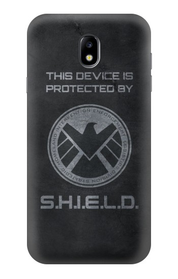 Printed This Device is Protected by Shield Samsung Galaxy Core I8260 Case