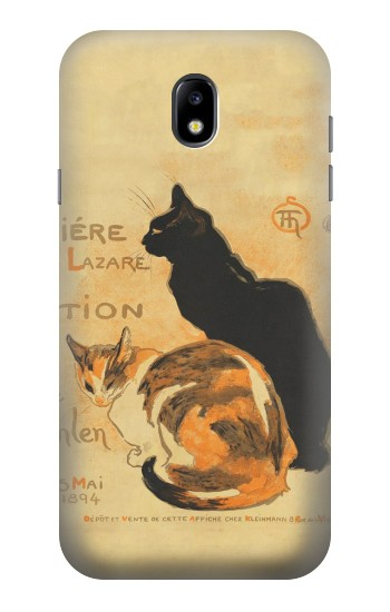 Printed Vintage Cat Poster Samsung Galaxy Core I8260 Case