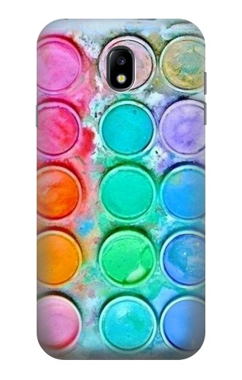 Printed Watercolor Mixing Samsung Galaxy Core I8260 Case