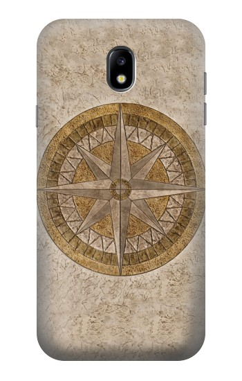 Printed Windrose Circle Stamp Samsung Galaxy Core I8260 Case