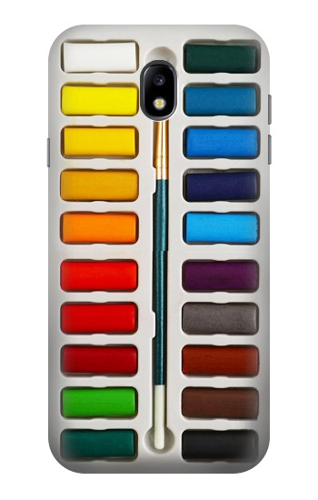 Printed Watercolor Paint Set Samsung Galaxy Core I8260 Case