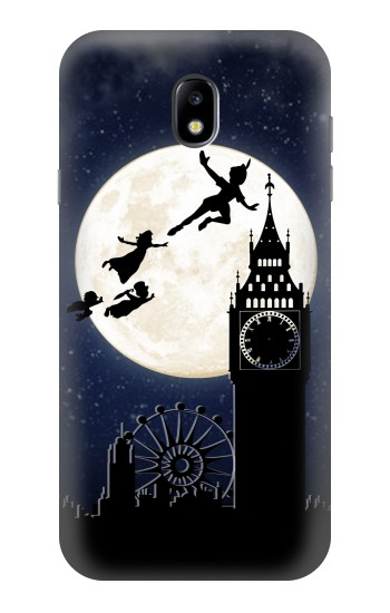 Printed Peter Pan Fly Fullmoon Night Samsung Galaxy Core I8260 Case