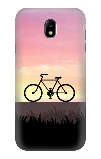 Printed Bicycle Sunset Samsung Galaxy Core I8260 Case