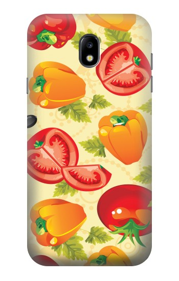 Printed Seamless Food Vegetable Samsung Galaxy Core I8260 Case