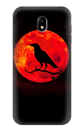 Printed Crow Red Moon Samsung Galaxy Core I8260 Case