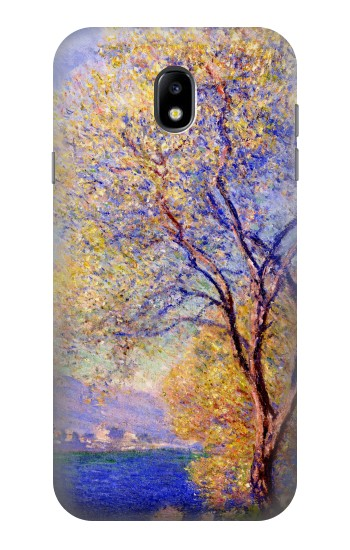 Printed Claude Monet Antibes Seen from the Salis Gardens Samsung Galaxy Core I8260 Case