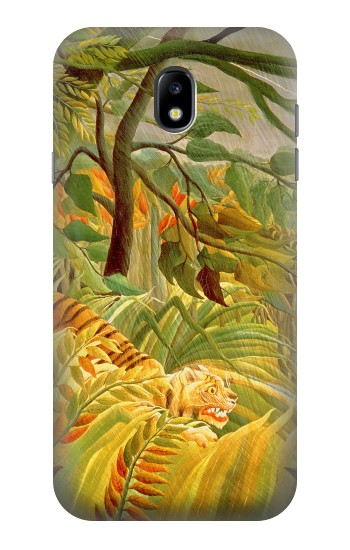 Printed Henri Rousseau Tiger in a Tropical Storm Samsung Galaxy Core I8260 Case