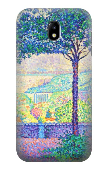 Printed Paul Signac Terrace of Meudon Samsung Galaxy Core I8260 Case