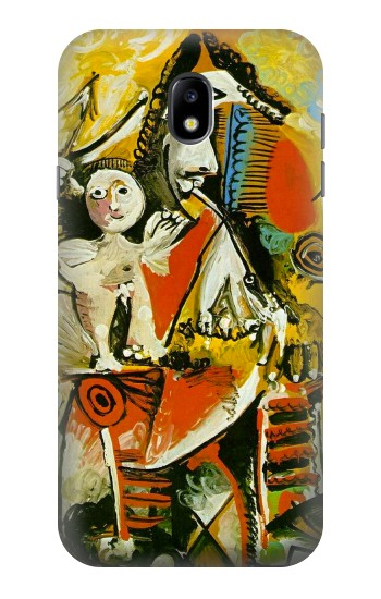 Printed Picasso Painting Cubism Samsung Galaxy Core I8260 Case