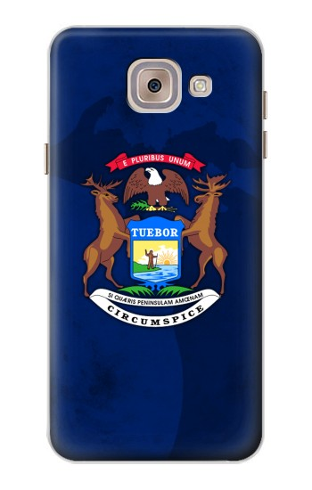Printed State of Michigan Flag Asus Zenfone 5 A500CG Case