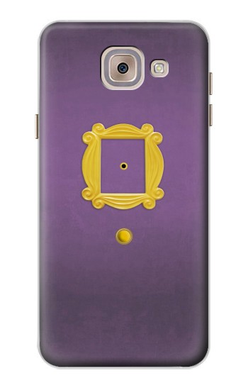 Printed Friends Purple Door Minimalist Asus Zenfone 5 A500CG Case