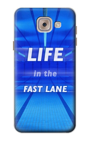 Printed Life in the Fast Lane Swimming Pool Asus Zenfone 5 A500CG Case