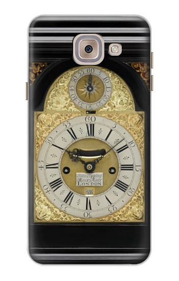 Printed Antique Bracket Clock Asus Zenfone 5 A500CG Case