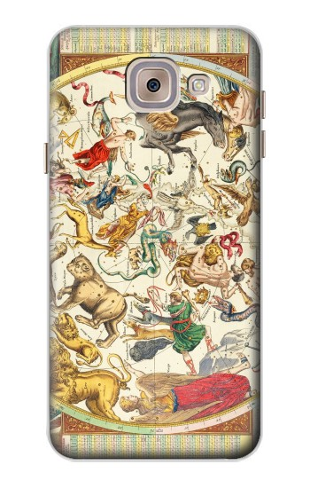 Printed Antique Constellation Map Asus Zenfone 5 A500CG Case