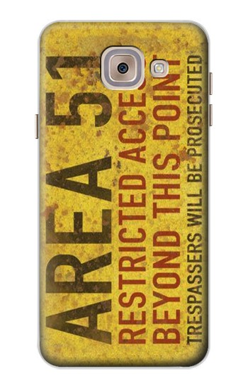 Printed Area 51 Restricted Access Warning Sign Asus Zenfone 5 A500CG Case