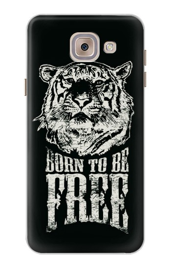 Printed Born to Be Free Tiger Asus Zenfone 5 A500CG Case