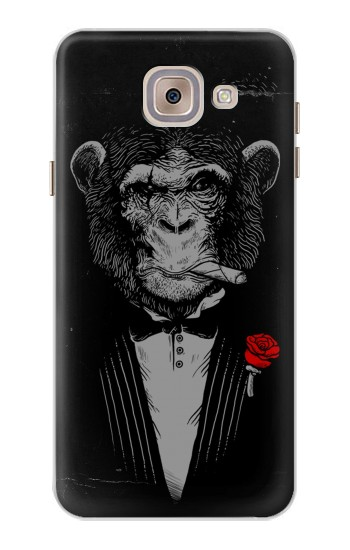 Printed Funny Monkey God Father Asus Zenfone 5 A500CG Case