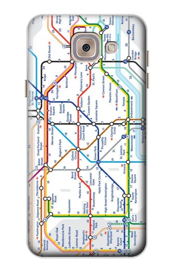 Printed London Underground Map Asus Zenfone 5 A500CG Case