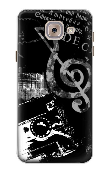 Printed Music Cassette Note Asus Zenfone 5 A500CG Case