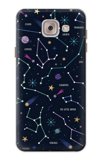 Printed Star Map Zodiac Constellations Asus Zenfone 5 A500CG Case