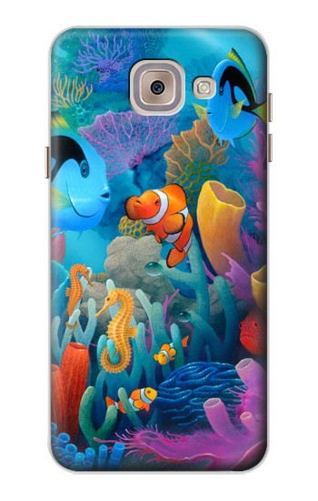 Printed Underwater World Cartoon Asus Zenfone 5 A500CG Case