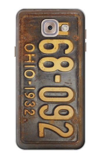 Printed Vintage Car License Plate Asus Zenfone 5 A500CG Case