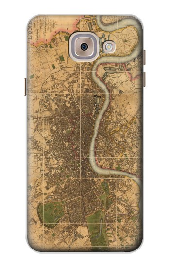 Printed Vintage Map of London Asus Zenfone 5 A500CG Case