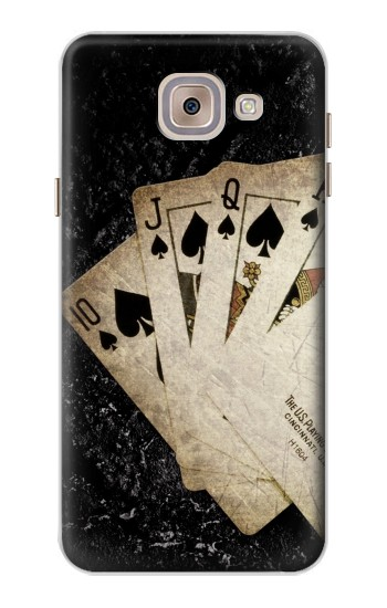 Printed Vintage Royal Straight Flush Cards Asus Zenfone 5 A500CG Case