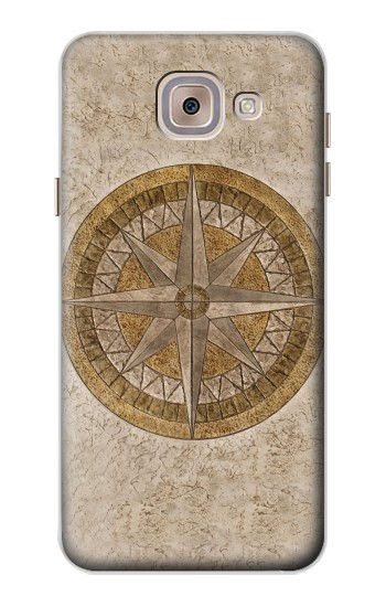 Printed Windrose Circle Stamp Asus Zenfone 5 A500CG Case